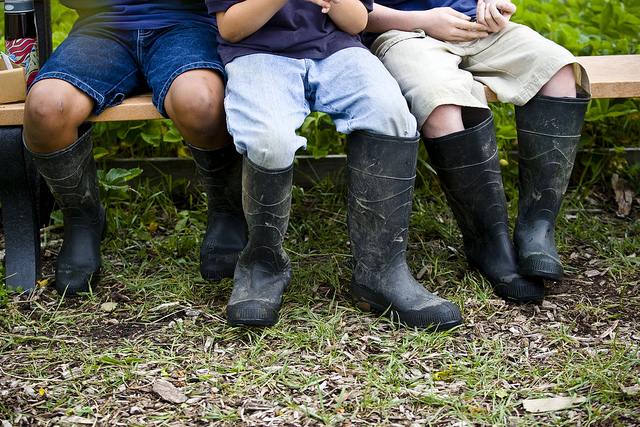 west-michigan-academy-kids-in-work-boots-outside