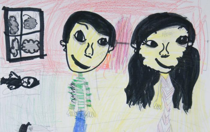 WMAES student's artwork - winner of art contest held by national Charter Schools Institute