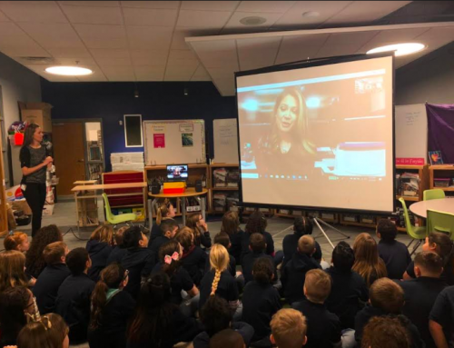 Surprise Skype Call with Meteorologist Ginger Zee!