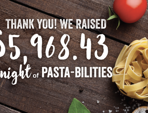 Night of Pastabilities Raises $5,968.43